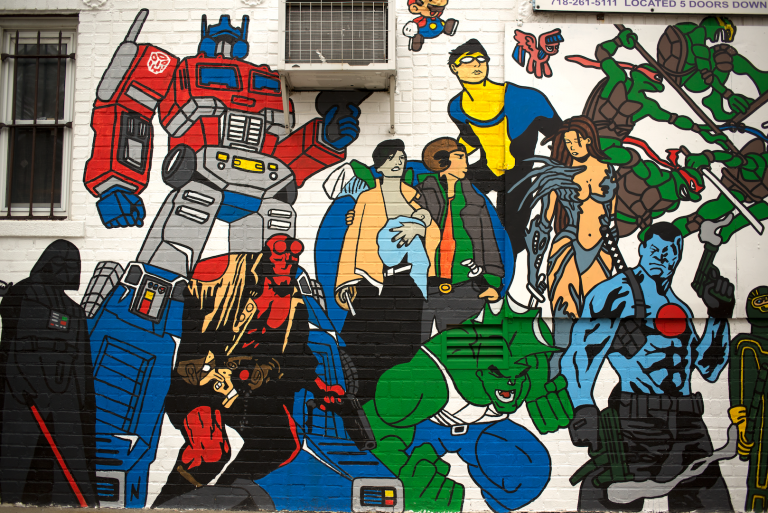 Royal Collectibles Mural Forest Hills