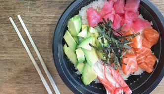 Poke Bowl and Sushi Wraps in Forest Hills NY: Kissfish