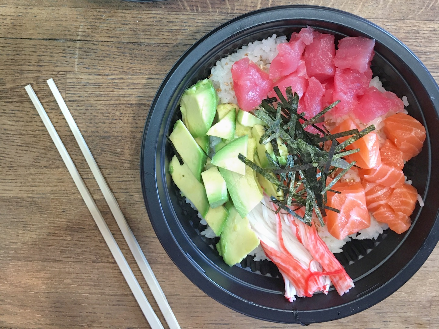 poke bowl at kissfish forest hills new york