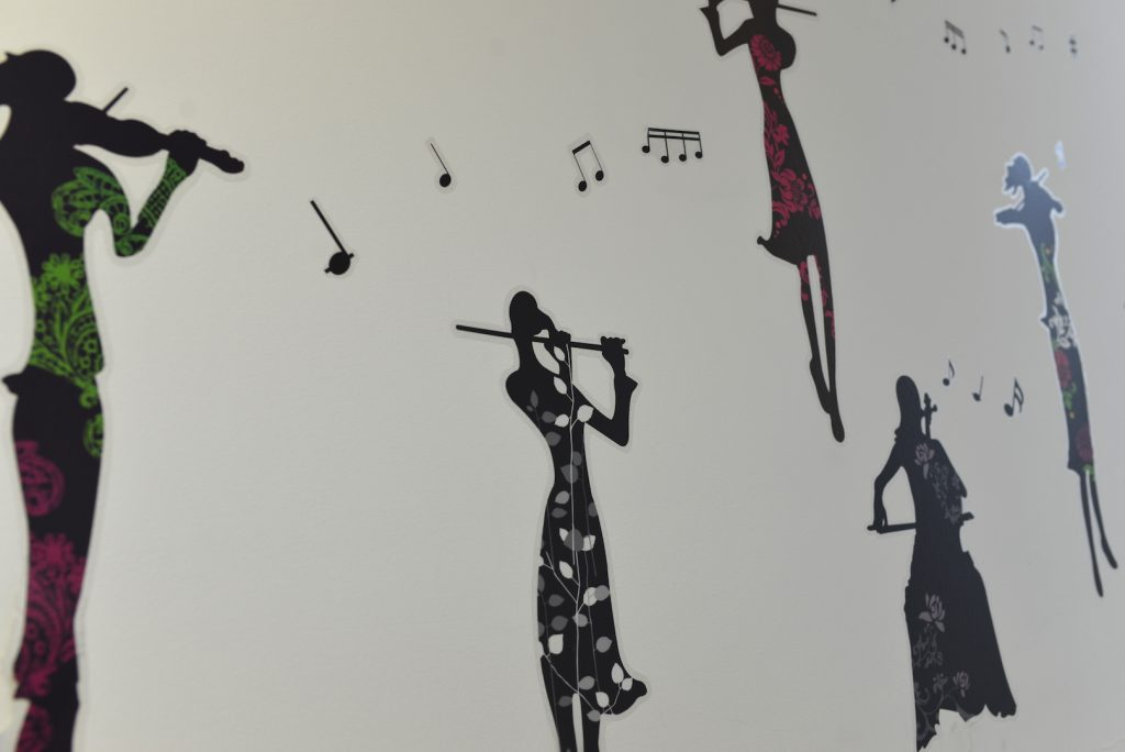 further music wall decal