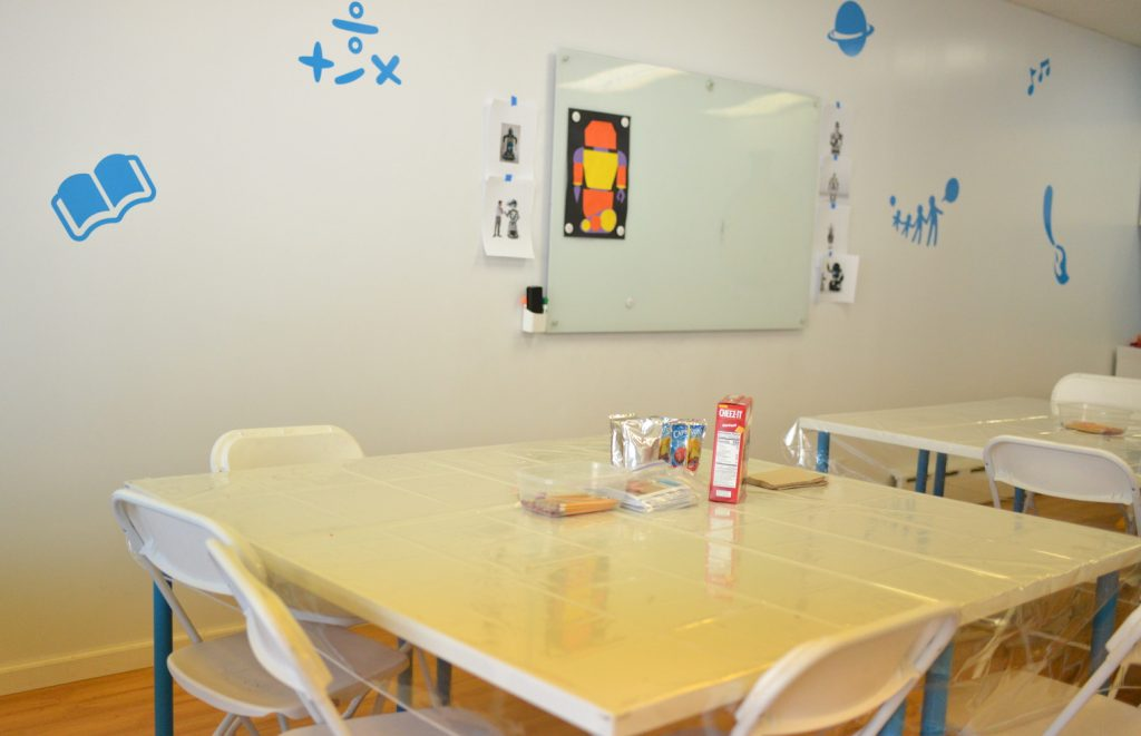 learning lab table